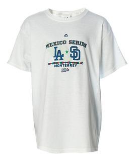 Playera Atletica Mlb Mexico Niño Majestic Mj004