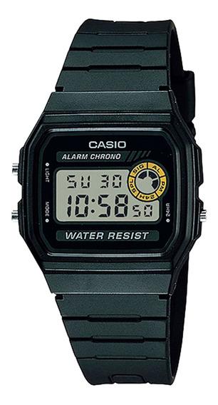 Relógio Casio F-94wa-8dg Masculino Preto - Refinado