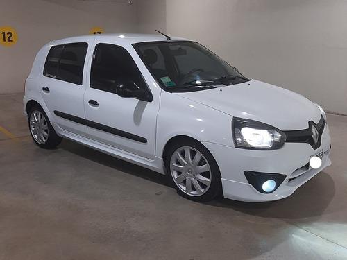 Imagen 1 de 14 de Renault Clio 2014 1.2 Mio Confort Plus Abc