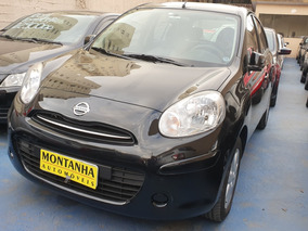 Nissan March 1.6 Sl Flex Ano 2012 Montanha Automoveis