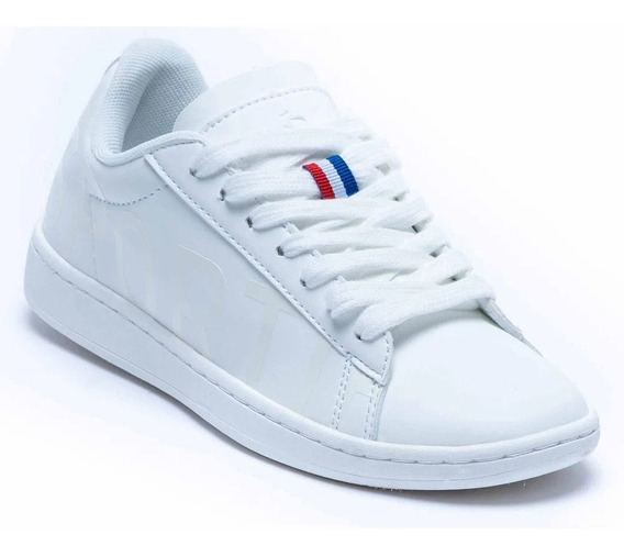 Zapatillas Le Coq Sportif Courtset Logo Full White