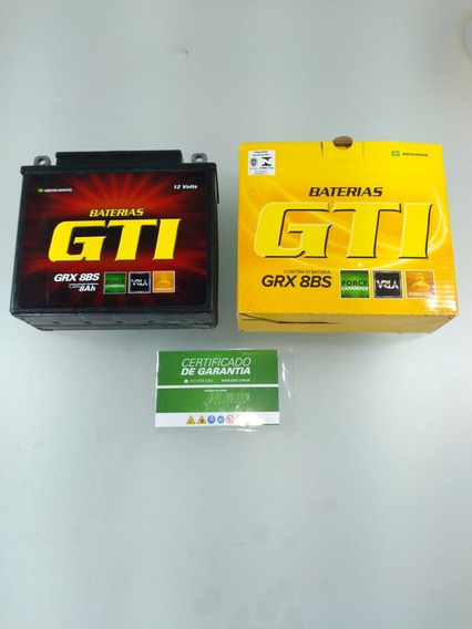 Bateria Gel 8ah Cbx 200 150 Strada Aero Nx Neo 115 Grx-8bs