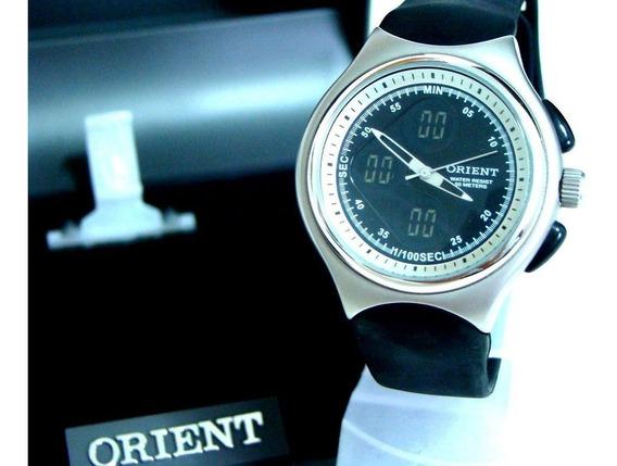 Relógio Orient Ana-digi Mbspa004 - Raridade - Novo Original!