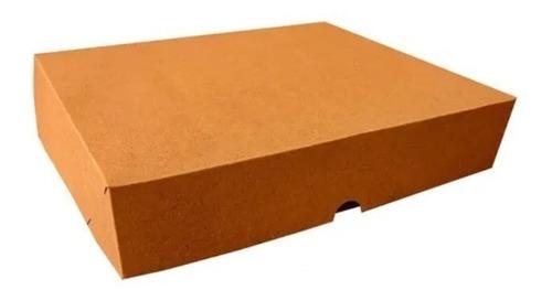 Imagem 1 de 3 de Caixa De Presente C/20 Unidades 15x12x5 - Kraft
