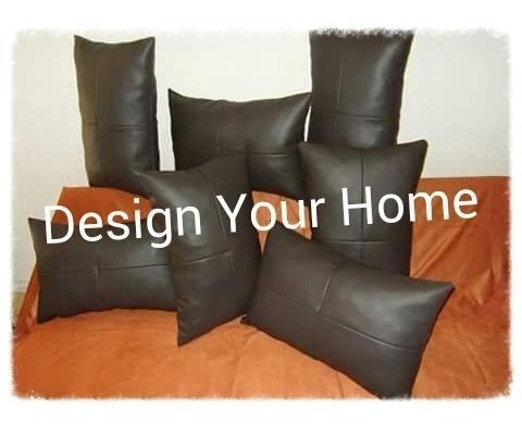 Cojines Decorativos Ecocuero  Nuevos Diseños Modernos