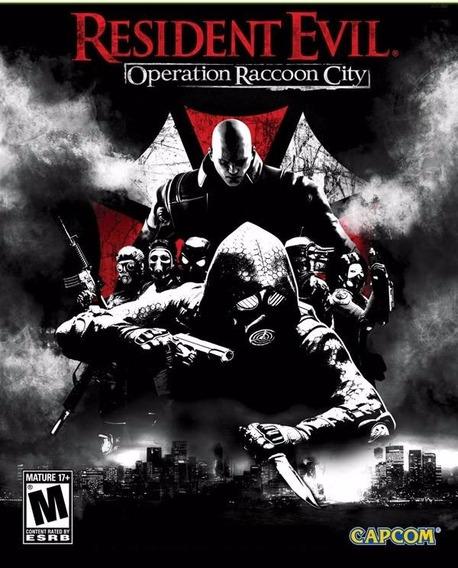 Resident Evil Operation Raccoon City Pc/not Original !!