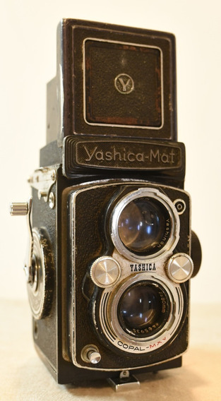 Câmera Tlr Antiga Vintage Yashica Mat