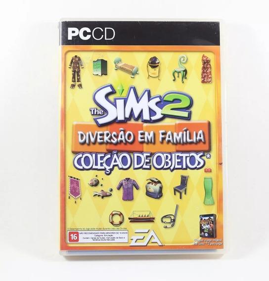 Pc Cd - The Sims 2 Diversão Em Familia - Original Lacrado