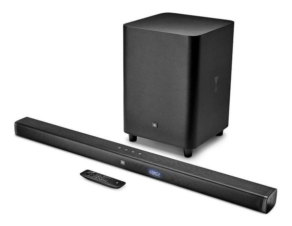 Soundbar Jbl Bar 3.1 Subwoofer Inalámbrico 450w Bluetooth