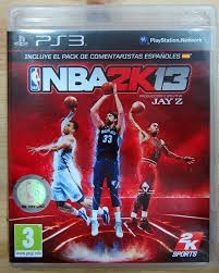Nba 2k13 Ps3 - Mídia Física Original Bru-ray