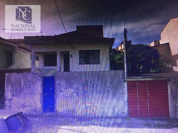 Terreno À Venda, 720 M² Por R$ 1.584.000 - Vila Metalúrgica - Santo André/sp - Te0976
