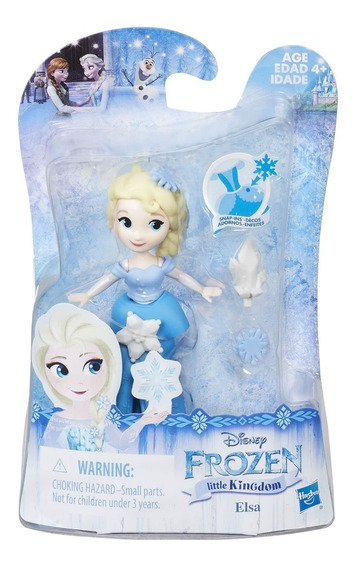 Mini Princesas Disney Frozen Princesa Elsa Hasbro