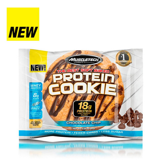 Protein Cookie Chocolate Chip 92gr