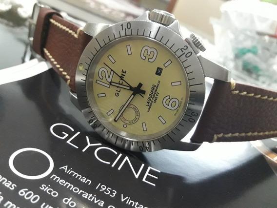 Relógio Suíço Glycine Lagunare 1000 Ft Automatico Semi-novo