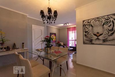 Apartamento No 1º Andar Mobiliado Com 3 Dormitórios E 2 Garagens - Id: 892935669 - 235669