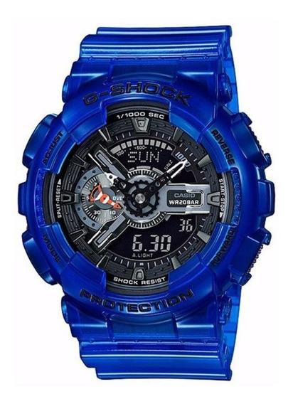 Relógio Masculino Casio G-shock Digital/analógico Ga-110cr-2
