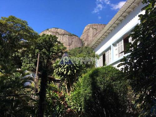 Casa À Venda, 6 Quartos, 1 Vaga, Gávea - Rio De Janeiro/rj - 4044