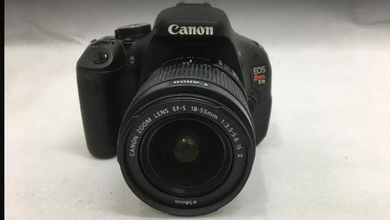 Canon T3i Com Lente 18-55mm . 18mpx