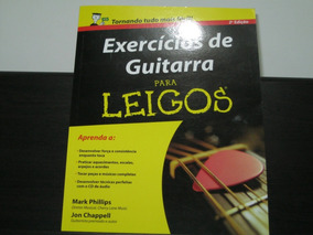 Exercícios De Guitarra Para Leigos - 2ª Edição + Cd