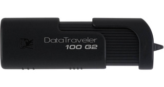 Memoria USB Kingston DataTraveler 100 32GB negro