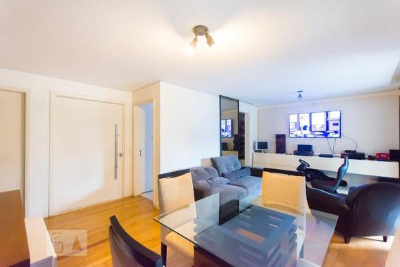 Apartamento No 1º Andar Com 2 Dormitórios E 2 Garagens - Id: 892963134 - 263134