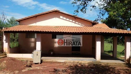 Chácara Com 2 Dormitórios À Venda, 1250 M² Por R$ 290.000,00 - Loteamento Chácaras Gargantilhas - Campinas/sp - Ch0089