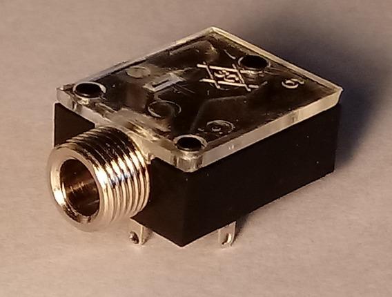 Audio Jack 3.5mm Conector Stereo Circuito Impreso Bolsa X100