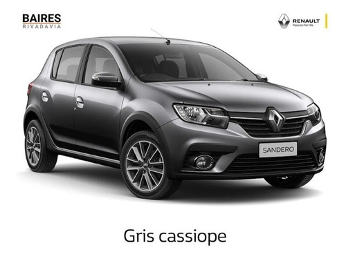 Renault Sandero 0k 2021 Primeras 12 Cuotas Fijas