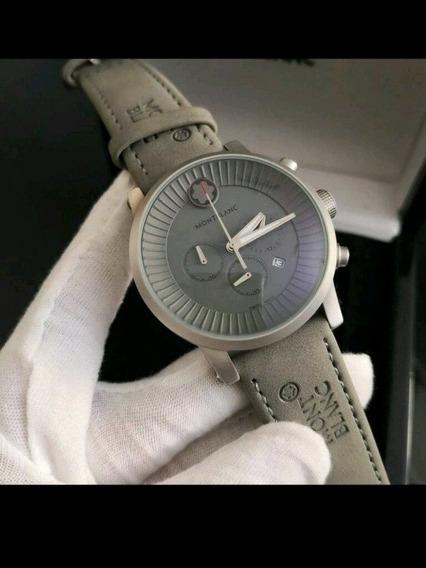 Relógio Montblanc + Caixa Couro Top