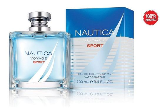 Colonia - Sport Nautica Voyage - Hombre - 100ml - Edt