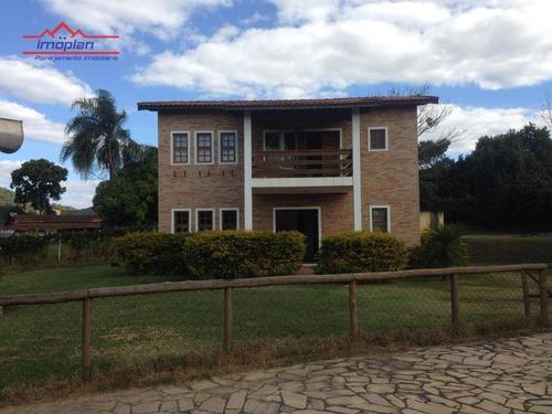 Chácara Com 3 Dormitórios À Venda, 2800 M² Por R$ 910.000,00 - Jardim Paraíso Da Usina - Atibaia/sp - Ch0206