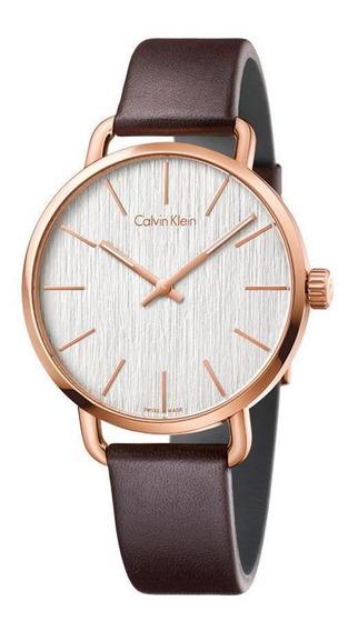 Relógio Calvin Klein Even K7b216g6 Slim Masculino