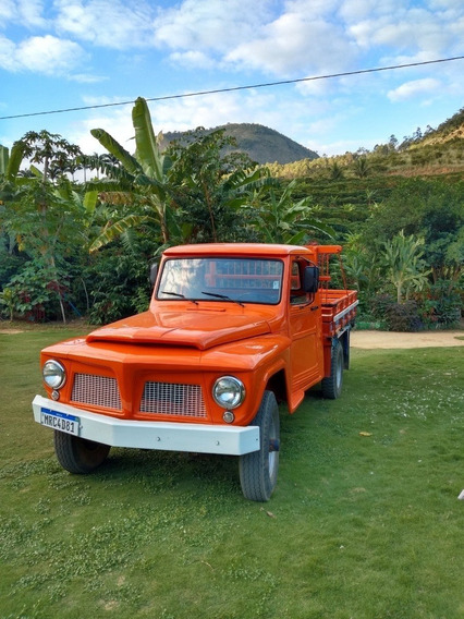 Ford F-75 Carroceria De Madeira