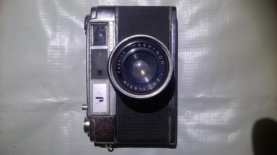 Camera Fotografica Yashica 35mm Antiga ,raridade.