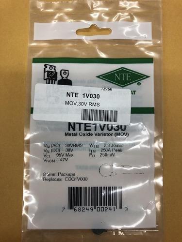 Nte 1v030 Varistor Nuevos