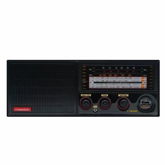 Radio Cabeceira 7 Faixas Aux Am Fm Companheiro