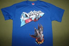 Gusanobass Playera Rock Metal Hard Dokken Heavy Tooth X L