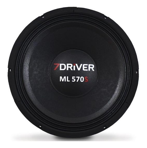 Alto Falante Woofer 7 Driver 12 Pol 570 Rms Médio Grave