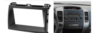 Kit Adaptación Radio Dash Toyota Land Cruiser Prado(02 - 09)