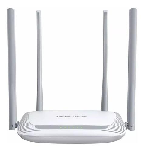 Imagen 1 de 7 de Router Wifi Mercusys By Tp Link 300 Mbps 4 Antenas