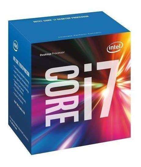 Processador Intel Core I7-7700k S1151 4.2ghz 8mb Box S/coler