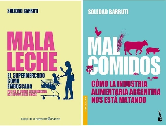 Lote Mala Leche + Mal Comidos De Soledad Barruti 29s