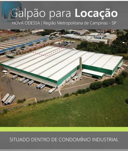 Galpão/pavilhão Para Alugar No Bairro Centro Em Nova - 1017-2