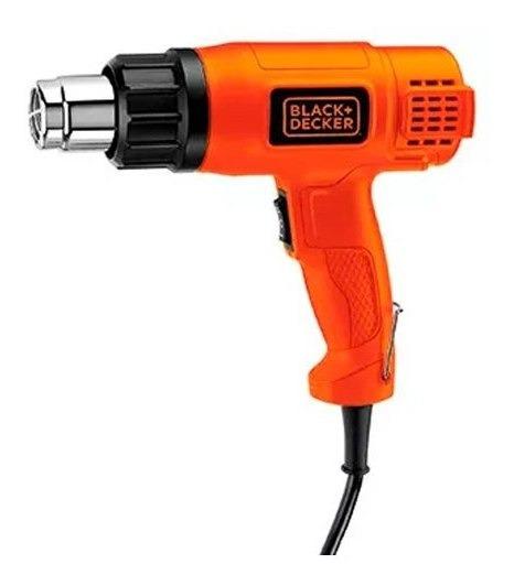 Pistola De Calor 1500w 2 Temperaturas Hg1500 Black Decker