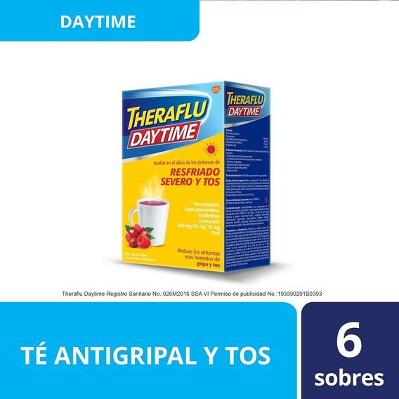 Te Antigripal Frutos Del Bosque Daytime 6 Sobres Theraflu