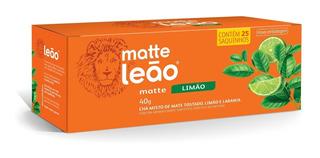 Chá Matte Leão - Limão 25 Saches