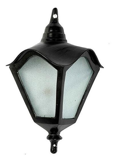 Luminária Colonial Meia Cara Romana Menor Em Alumínio