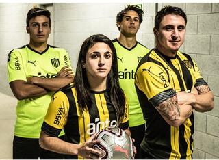 Camiseta Puma Peñarol Remera Oficial Para Niño Mvd Sport