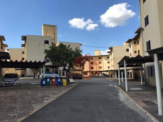 Apartamento Com 2 Dormitórios À Venda, 70 M² Por R$ 170.000,00 - Vila Galo - Americana/sp - Ap0155