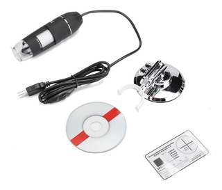 1000x Preto Lupa Reparação Do Telefone Móvel Usb Digital